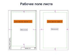 Правила оформления дипломного проекта презентация онлайн  Рабочее поле листа