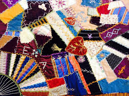 From the Collections: Crazy Quilts | Richfield Historical Society & Crazy ... Adamdwight.com