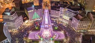 Indianapolis Monument Circle Tree Lighting Top Five Things To Do In November Downtown Indy Blog