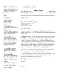 Professional Resume Cover Letter Samplesprofessional How To Do A