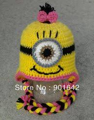 Minion Hat Crochet Pattern New Mobile Site48pcsLot Girl Minion Hat Crochet Pattern Despicable
