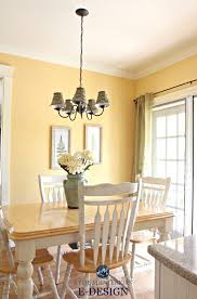 benjamin moore suntan yellow eating nook in country style kitchen kylie m e