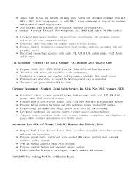 Accounting Objective Resume Examples Accounting Objective Resume ...