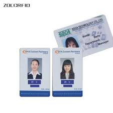 Work Identity Card Online Shop 10pcs Work Id Card Badge 125khz Id Em Card Photo Access