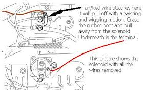 wiring diagram of 2003 ford expedition the wiring diagram 200 ford expedition 4 6l the mechanic replaced the starter moter wiring