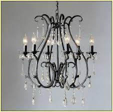 black wrought iron chandelier lighting home design ideas regarding elegant home wrought iron and crystal chandelier decor