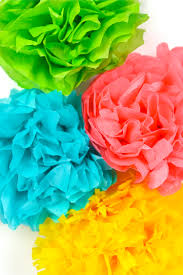 Paper Flower Tissue Paper How To Make Tissue Paper Flowers Four Ways Hey Lets Make