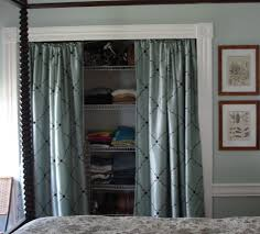 replacing sliding closet doors ideas replace bifold closet doors with curtains