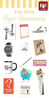 wedding anniversary gift for husband gift ideas for husband paper anniversary gifts for him first wedding