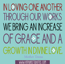 Love One Another Quotes in loving one another grace happens Pinterest Mother teresa 41