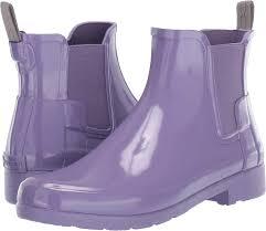 Hunter Womens Original Refined Chelsea Gloss Parma Violet 11 M Us