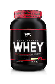 performance whey protein by optimum nutrition vanilla 25 servings