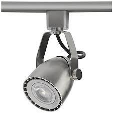 halo led track lighting heads. nickel bullet spot led track head for halo single circuit led lighting heads