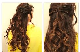 Half Ponytail Hairstyles Creative Half Ponytail Hairstyles Hairstyle For Women
