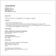 photographer resume example free templates collection the best resume samples