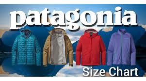 Patagonia Shorts Size Chart Patagonia Sizing Chart