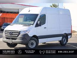 The mercedes esprinter can carry up to 2,304 pounds, but buyers have to opt for the smaller battery to haul that much. Sprinter For Sale Mercedes Benz Sprinter Cargo Vans Commercial Truck Trader