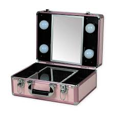 2016 new type make up vanity box case contouring beauty kit gift set mirror storage box