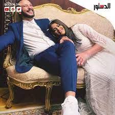 هنادى مهنا وزوجها أحمد... - جريدة الدستور - ElDostor News