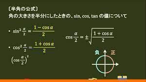 半角 の 公式