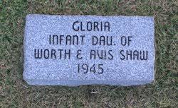 Gloria Shaw (1945-1945) - Find A Grave Memorial