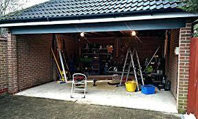 double garage door two doors or one garage doors we use an when converting the two