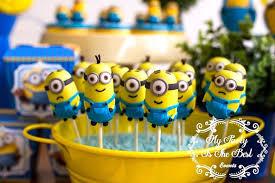 Minion Cake Pops from a Minions Birthday Party via Kara's Party Ideas |  KarasPartyIdeas.com