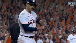 Carlos Correa goes viral for pointing at wrist after huge home run