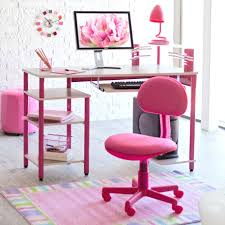 furniture cute computer desk design with marvelous white pink rectangular office desk plus pink desk lamp