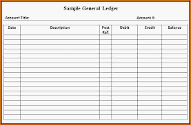 accounting ledger template format of general ledger hitecauto us