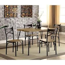 small dining room furniture. Furniture Of America Hathway Industrial 5-piece Dark Bronze Small Dining Set Room O