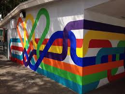 mural at micheltorena elementary school in los angeles by jordan crane on wall mural artist los angeles with mural at micheltorena elementary school in los angeles by jordan