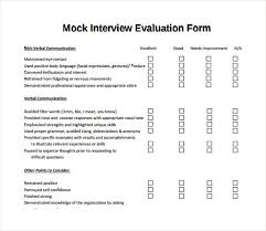 group interview questions mock interview evaluation form evaluation form interview