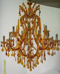 chandelier parts new zealand for awesome household amber glass chandelier plan