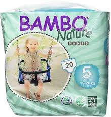 Bambo Nature Baby Diapers Classic Size 1 168 Count 6