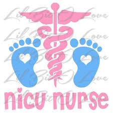 neonatal nurse nicu nurse vinyl decal sticker neonatal icu nursing ba feet neonatal nurse job duties