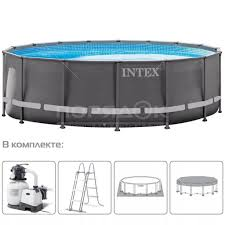 Бассейн каркасный <b>Intex Ultra</b> XTR Frame <b>Pool</b> 26326GN с ...