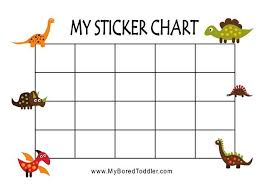 Dinosaur Reward Chart And Stickers Do You Want A Free Dinosaur Reward Chart It Even Comes With