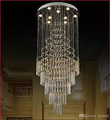 smart plug in chandelier inspirational creative crystal chandelier living duplex villa stairwell than beautiful plug in