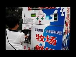 Baguette Vending Machine Sf Impressive 48L Milk DispenserMilk VendingMilk ATM Machine YouTube