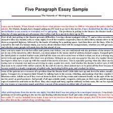 paragraph outline template sample essay descriptive in   format of a 5 paragraph essay resume examples templates writing for example