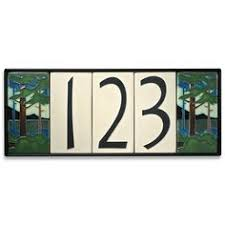Arts And Crafts Decorative Tiles house number tiles Arts And Crafts Decorative Tiles tiles 70