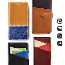 patina leather hand made fc06 folding standing mobile phone holster iphone android designer patina taiwan i