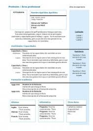 modelo curriculum cv templates functional 4 resume templates