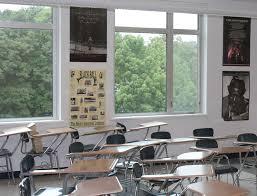 classroom window. More Windows (Jeremy Bernfeld For WBUR) Classroom Window T