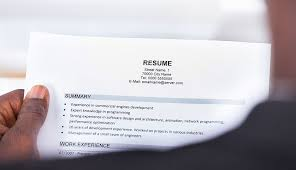 Resume Name Adorable Help Your Résumé Stand Out In Job Search