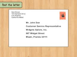 Envelope Format Addressing An Envelope To A Business Scrumps