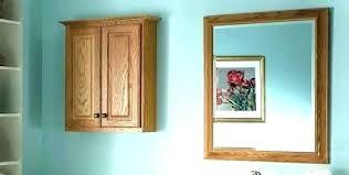wooden framed bathroom mirrors oak mirror rustic wood b