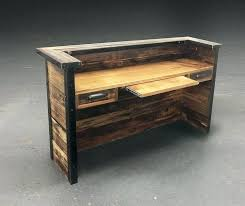 reclaimed wood office. Excellent Appealing Modern Wooden Desk 33 Popular Of Wood Office Fabulous Designer Tables Safarimp Reclaimed