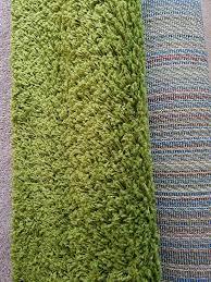 ikea lime green rug